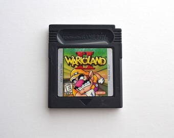 Wario Land 2 For The Original Nintendo Game Boy