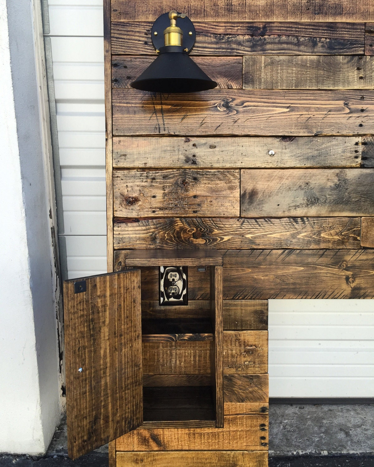 Rustic Headboard upgraded Wood Headboard Queen Headboard