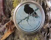 9 Sacred Woods Balm ~ Wiccan, Shaman Ritual, Celtic, Hedge Witch Magick ~ Organic Natural Healing Balm ~ Herbal Healing