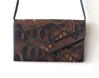 Reserved for Madiha / Shoulder bag in fabric