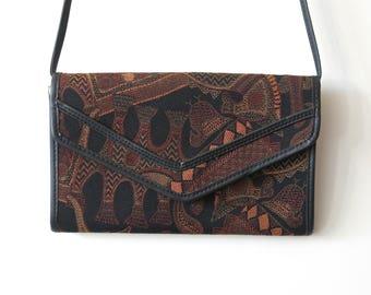 Reserved for Madiha / Shoulder bag in fabric