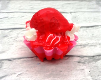 Strawberries and Cream Wax Tart Melt