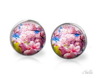 Earrings cherry blossoms 61
