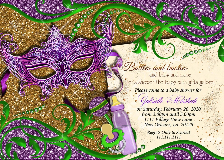 Mardi Gras baby shower baby shower mardi gras mardi gras