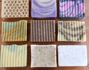 BONUS BUY 4 Pack of Natural & Homemade Soaps You Choose the Variety