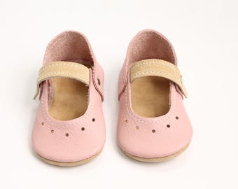 Leather Baby Mary Jane Shoes