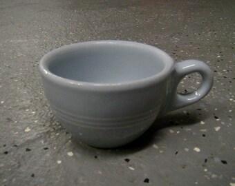 Buffalo China Lune - 6 oz. Striped Coffee/Tea Cups - Made In USA