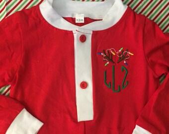 Personalized First Christmas Pajamas!