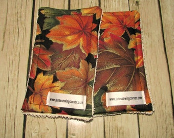 Fall Leaves UnSponge, Reusable Sponge, Dish Cloth, Wash Cloth, Cloth Sponge, Kitchen Towel, Housewarming Gift, Eco Friendly, Kitchen Decor