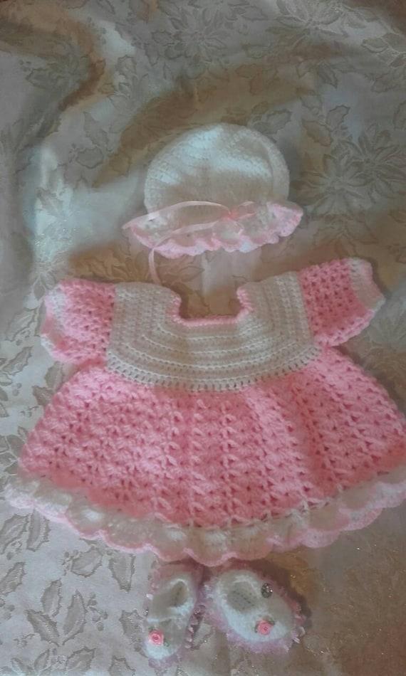Baby Mädchen Kleid Häkelkleid Mädchen Kleid Baby Kleid