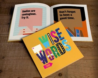 Wise Words Personalized Book for Kids