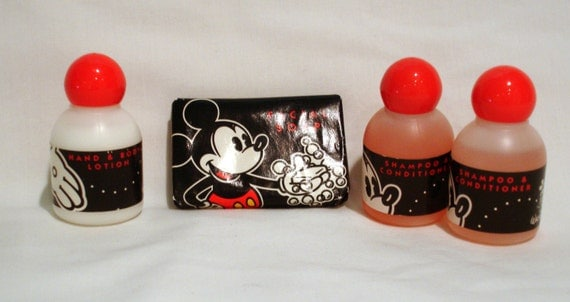Vintage Disneyworld Souvenir Soap Collection
