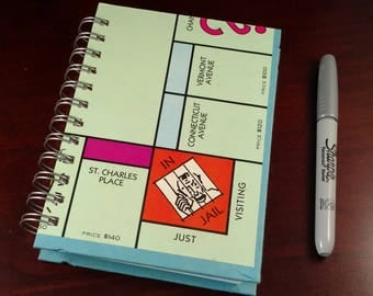 Monopoly Game Board Notebook