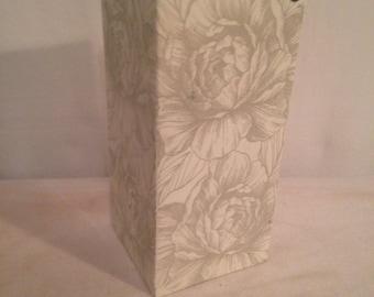 Old Vase GULT square pink Decoration DESIGN