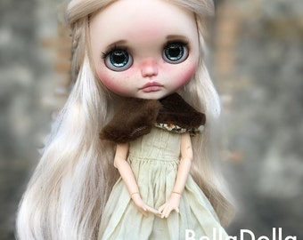Reserved to Patsy, Bergamote : Blythe OOAK by BellaDolla #149