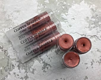 COPPER Lip Tint, Argan Oil Lip Balm, Tinted Lip Balm, Copper Lip Gloss,  Gift for Her, Girlfriend Gift, Stocking Stuffers