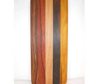 Small wooden cutting board, cheese board, bread board, kitchen board (#122)