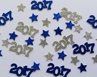 2018 Confetti... Glitter... Stars... Graduation... Congrats Grad