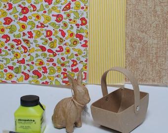 Easter Basket and Rabbit Kit