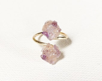 The Wrap Ring, crystal ring