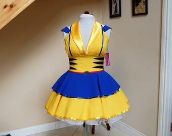 cosplay dress , fandom dress ,comic con dress .