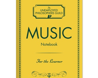 A5 Notebook Music Writers Manuscript,  Scales and Harmonies Journal, Music Lovers ready to learn notebook,