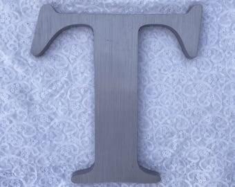 """T 12"""" metal sign letter"""