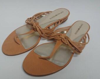 Vintage Emporio Armani sandals flats