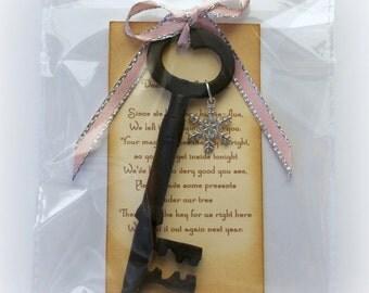 Santa Magic Key Father Christmas Key Christmas Decoration Stocking Filler Gift Idea