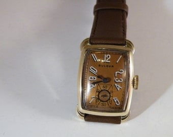 "1944 Bulova ""Senator"", 17 Jewel, manual winding, Men's Watch--Stunning & Serviced"