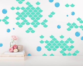 Bubble wall decals | Etsy