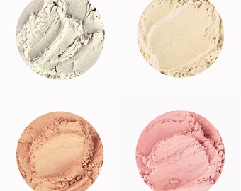 Illuminating Highlighters • LOOSE PIGMENT or CREAM • White Witch, Gold Throne, Luminous Bronze, Sweet Rose • 6g
