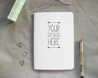 Personalised Notebook - Custom Notebook - Personalised Journal - Custom Logo Notebook
