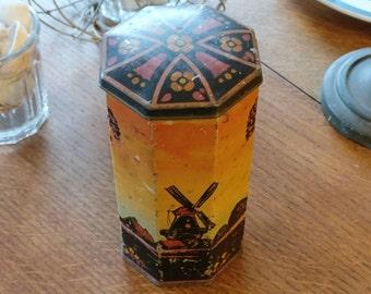 Genuine vintage coffee tin (ref 1007)