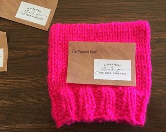 Inaugural Pink Pussyhat, Women's March on Washington with Fast Free Shipping!