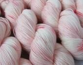 Kisses - Hand-dyed 4ply Yanadick Merino & Silk Yarn