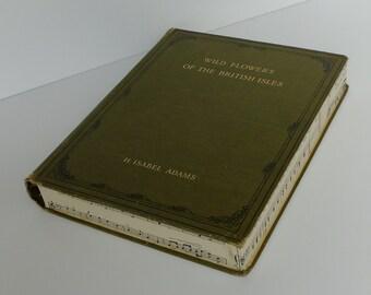 Hollow Book, Wedding Ring Box, Key Safe, Trinket Box: Wild Flowers Isobel Adams