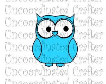 owl svg// owl layered svg// owl dxf