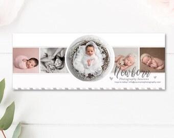 Newborn Photographer Facebook Timeline Cover, Photographer Facebook Timelines, INSTANT DOWNLOAD