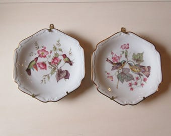 GERMANY MITTERTEICH BIRD Plate Wall Hangings