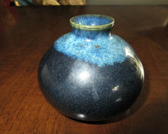 ART POTTERY Vase Signed HB