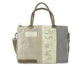 Sunsa woman weekend bag hand bag canvas bag shoulder bag sportbag artnr.:51623