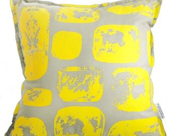 Mudbrick cotton canvas cushion cover