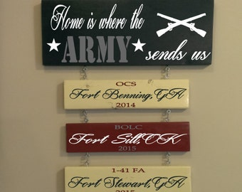 Home is where the Army sends us-HOLIDAY SALE-up to 20% off