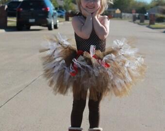 Reindeer tutu dress.  Baby/Toddler reindeer tutu dress. Christmas tutu dress.  Holiday tutu dress.  Baby Christmas dress.
