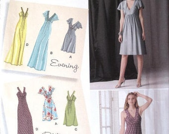 Woman's Maxi Dress Pattern - Simplicity 2219 - Sizes 6-8-10-12-14 - UNCUT Woman's Dress Sewing Pattern