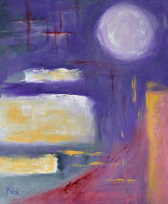 Original Abstract Painting entitled Abstract Meditation 6. Geometric Abstract Wall Art. Original Art. Original Painting. Home Decor.