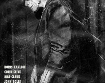 Frankenstein |  Karloff | 1931 | Limited Edition Poster