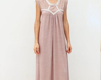 Sleeveless Maxi Dress, Summer Dress, Bohemian Dress, Ayahuasca Shipibo Gypsy Goddess Boho Tribal Women Clothing
