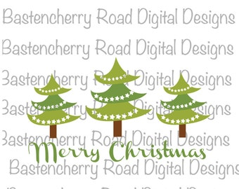 Christmas SVG, Christmas Tree SVG, Merry Christmas SVG, Cut File, svg, Cricut, Silhouette, Instant Download, svg Design, Vinyl, svg file